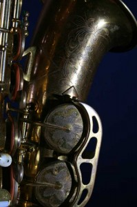 King super 20 saxofoon.